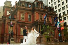 A City #Wedding at The Union League of Philadelphia. (PC: Phillip Gabriel Photography)
