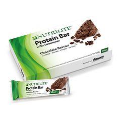 NUTRILITE™ Proteinriegel Schokoladengeschmack | Amway http://www.amway.de/user/manuelajo