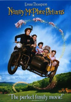Nanny McPhee Returns (2010). Starring: Emma Thompson, Maggie Gyllenhaal, Rhys Ifans, Maggie Smith, Asa Butterfield, Ralph Fiennes, Oscar Steer, Lil Woods and Ewan McGregor