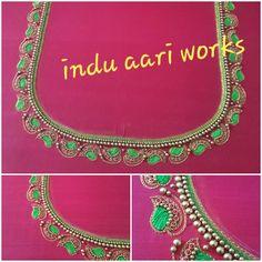 Aari Work Blouse, Jewelry, Design, Fashion, Moda, Jewlery, Jewerly, Fashion Styles, Schmuck