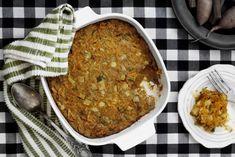 ליה שומרון פינדר   בישול בריא   מתכונים בריאים   פשטידת בצל ובטטה