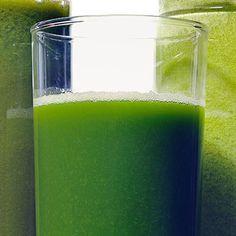 One easy -- and enjoyable -- way to stick to your resolution to eat better: Get your fruits and vegetables in a glass! You can whip up these cool juices at home -- no juicer required. Cheers!