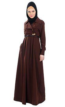 French style abaya dress