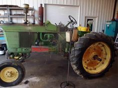 John Deere 3020 tractor salvaged for used parts. This unit is available at All States Ag Parts in Downing, WI. Call 877-530-1010 parts. Unit ID#: EQ-24675. The photo depicts the equipment in the condition it arrived at our salvage yard. Parts shown may or may not still be available. http://www.TractorPartsASAP.com