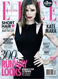 House of Cards' Kate Mara for Elle Canada