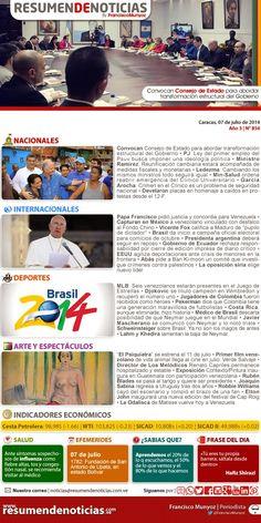 Resumen de Noticias: Lunes | 07/07/2014