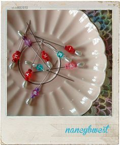 { fancy nancy's nifty quilt row markers }  these sound great I have go to make them...