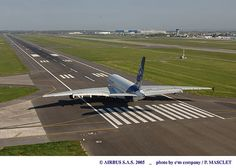 Airbus A380 (27 avril 2005): 1er vol