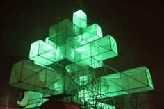 ABIES-Electronicus - XMAS Tree - by 1024 architecture