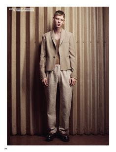 """before you kill us all: EDITORIAL 10 Men Magazine Spring 2015 """"Strange Attraction"""" Feat. Felix Tornquist & Anders Johnson by Sharif Hamza"""