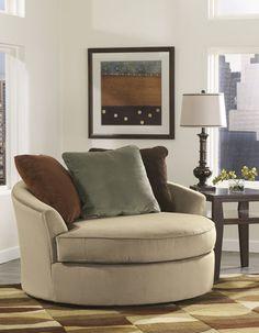 Over Sized Swivel Chair In Laken By Ashley Furniture @ Art Van $549.99 58