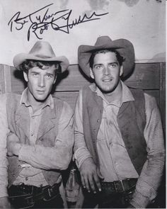 ROBERT FULLER signed autographed LARAMIE JESS HARPER w/ JOHN SMITH photo in Entertainment Memorabilia, Autographs-Original, Television | eBay