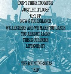 The quotable Bouncing Souls