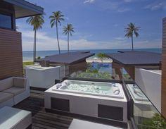 Aava Resort Thailand jacuzzi seaview