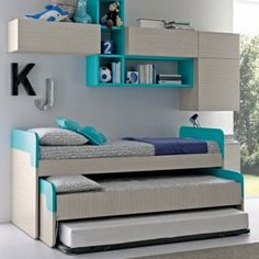 Image result for three bunk bed ideas