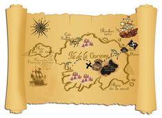 Carte à compléter - anniversaire pirates Pirate Maps, Pirate Theme, Pirate Party, Kingdom Hearts, Barbie Em Paris, Diy Pour Enfants, Pirate Ship Cakes, Peter Pan Party, Pirate Crafts