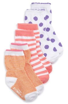 Robeez® Pattern Socks (3-Pack) (Baby)