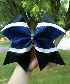 Custom cheer bow YOU PICK COLORS big cheer bow by CraftyOhBows Cheer Coaches, Cheer Stunts, Cheer Dance, Softball Hair Bows, Cheerleading Hair Bows, Cute Cheer Bows, Cheer Routines, Softball Uniforms, Softball Hairstyles
