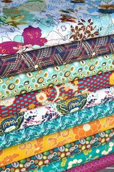 <3 it! Indie in Midnight Temple from Pat Bravo for Art Gallery Fabrics