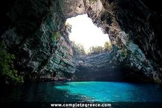 Melissani Cave - Kefalonia - Kefalonia - #Greece