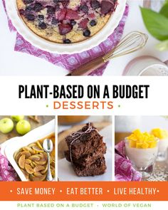 Our new #vegan #dessert cookbook is finally here!