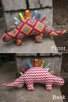 Dino Sensory Baby Toy by TulipDesignsShop on Etsy