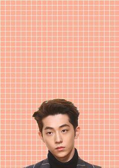 Nam Joo Hyuk Pastel Grid