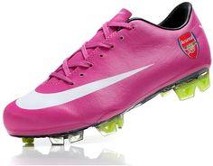 Nike Mercurial Vapor Superfly III Elite Safari Cristiano Ronaldos FG Firm Ground Arsenal Team Soccer Cleats Red/White3