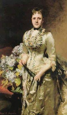 John Singer Sargent - Mrs. Jacob Wendell 1888