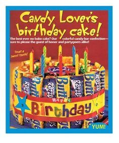 cute birthday poster with candy sayings for the boss | LOOOOOVE candy, and if someone were to make this creative candy bar ...