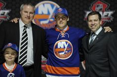 Why New York Islanders Prospect Ryan Pulock Is Still In the Minors New York Islanders, Ice Hockey, Be Still, Nhl, Pride, Baseball Cards, Long Island, Sports, Hs Sports