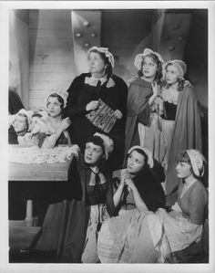 Original photo of Jeanette MacDonald with other Casquette girls from Naughty Marietta (1935)