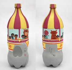 The first post of Eric Barclay's wonderful illustrated pop bottles, coffee jars and cans, magical smile making work.