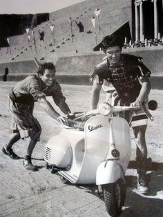 Charlton Heston and Stephen Boyd - Ben Hur, 1958