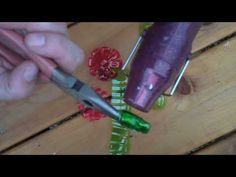 Plastic Bottle Flower Key Chain - YouTube