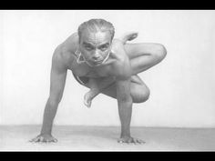 Yoga Demonstration 1976 B K S  Iyengar - YouTube