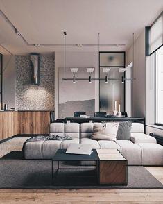 Marvelous Home Design Architectural Drawing Ideas. Spectacular Home Design Architectural Drawing Ideas. Interior Design Examples, Loft Interior Design, Industrial Interior Design, Loft Design, Best Interior, Interior Design Inspiration, Interior Decorating, Design Ideas, Design Concepts