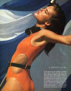 Renee Simonsen, Harper's Bazaar Chile, September 1984