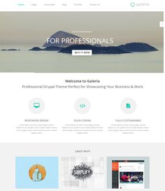 38 more of the best free premium bootstrap drupal themes for Drupal 404 template