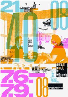 21st poster biennial warsaw [2008] poster: by cyan