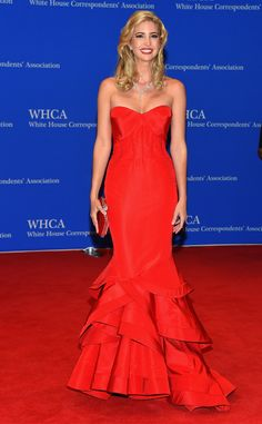 Chrissy Teigen from 2015 White House Correspondents' Dinner: Star Sightings | E! Online