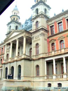 Pretoria, South Africa - Building has the courtroom where Mandela was sentenced to 27 years of jail