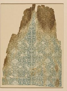 Textile Date: 13th century Geography: Syria Culture: Islamic Medium: Silk; warp faced plain weave Accession Number: 47.15