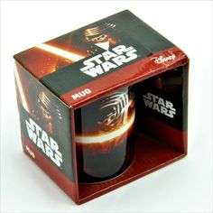 Official Star Wars: Episode VII The Force Awakens kylo ren Mug Cup collectable Episode Vii, Disney Star Wars, Star Wars Episodes, Mug Cup, Candle Jars, Cups, Tea, Coffee, Stars