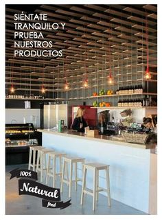 fresh & Easy store, madrid, jump and fly architects,madera, comida sana, fresco, cool retail store