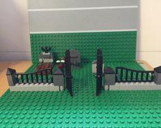 Panier de pop-corn Lego personnalisé / stand. par Jbrickcreations