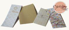 Menus personalizados para casamento - papelaria para casamento - desenvolvido para Acontece Cerimonial