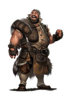Male Human Jolly Ranger - Pathfinder PFRPG DND D&D d20 fantasy
