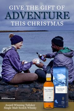 Give the Gift of Adventure this Christmas. From the Wild Isle of Skye, discover award winning Talisker Single Malt Scotch Whisky today Malt Whisky, Scotch Whisky, Talisker Whisky, Christmas Drinks, Christmas Gifts, Xmas, Jammy Dodgers, Michael Collins, Best Chicken Recipes