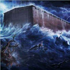 Can you imagine the roaring of the water...pounding down around the ark.... see jw.org